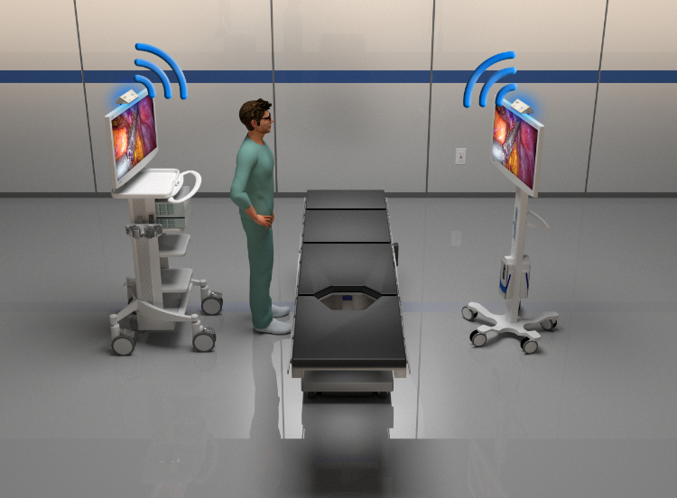 medical grade, UHD, 4K, HD, wireless, wireless imaging, 60 GHz, cordless, cordless mobility, ZeroWire, ZeroeWire Mobile, ZeroWire Embedded, ZeroeWire 4K, ZeroWire G2, cordless, cable-free, safety, workflow