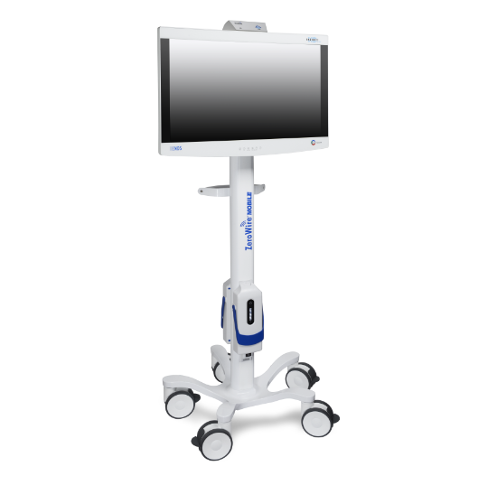 medical grade, UHD, 4K, HD, wireless, wireless imaging, 60 GHz, cordless, cordless mobility, ZeroWire, ZeroeWire Mobile, ZeroWire Embedded, ZeroeWire 4K, ZeroWire G2, cordless, cable-free, safety, workflow, cable-equivalent, embedded, signal containment, pairing, ergonomics